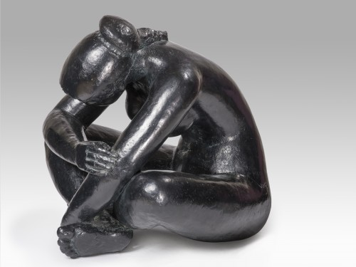 Sculpture  - VOLTI Antoniucci (1915-1989) - Contemplation
