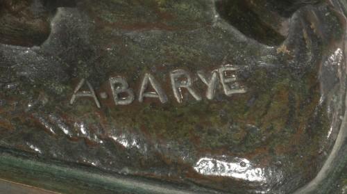 BARYE Alfred (1839-1882), Giraffe - Sculpture Style