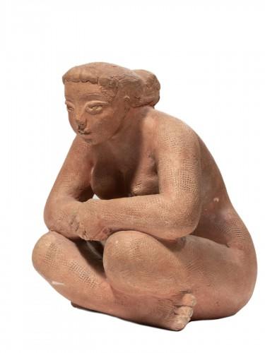 VOLTI Antoniucci (1915-1989) - Pensive woman