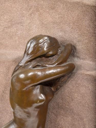 "Sculpture  - BARTHOLOME Albert (1848-1928) - Bas relief ""The pain"""