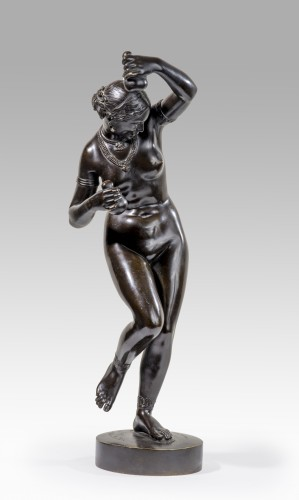 PRADIER James (1790-1852) - Danseuse nue aux calebasses - Galerie Nicolas Bourriaud