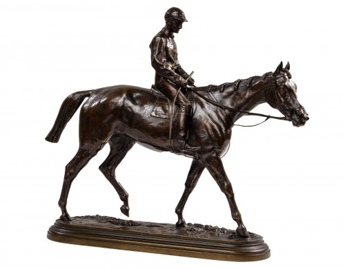 BONHEUR Isidore (1827-1901) - Jockey on horse