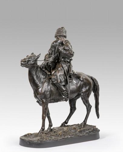 19th century - LANCERAY Evgeni Alexandrovitch (1848-1886) - The farewells of the Cossack