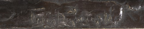 Sculpture  - VAN RYSWYCK Thierry (1911-1958) - Walking panther