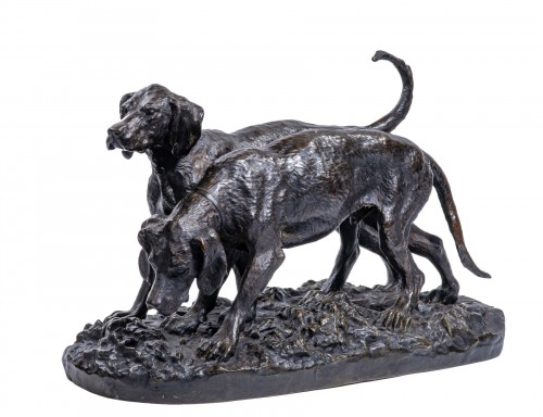 FRATIN Christophe (1801-1864) - Pack of hounds