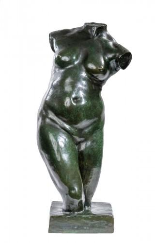 DALOU Aimé-Jules (1838-1902) - Woman torso