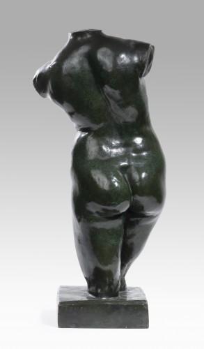 19th century - DALOU Aimé-Jules (1838-1902) - Woman torso