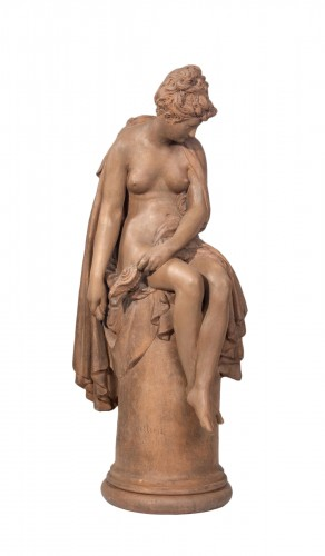 CARRIER-BELLEUSE Albert-Ernest (1824-1887) - Femme assise