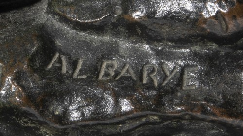 BARYE Antoine-Louis (1795-1875), Theseus and the Centaur Bienor - Sculpture Style
