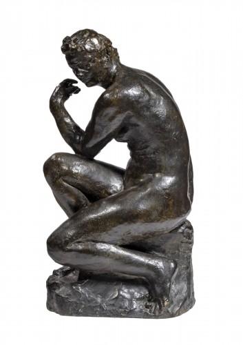 Raymond MARTIN (1910 - 1992) - Pensive woman