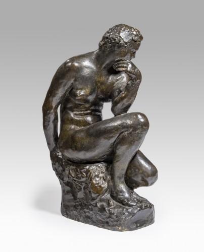 Raymond MARTIN (1910 - 1992) - Pensive woman -