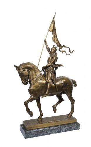 Jeanne d'Arc - Emmanuel FREMIET (1824-1910)