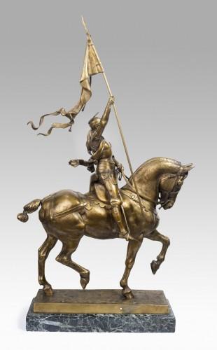 Jeanne d'Arc - Emmanuel FREMIET (1824-1910) -