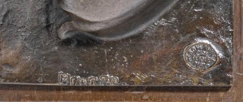 Vuilleumier Jean-Louis (1899-1981) - Lying doe                  - Sculpture Style Art nouveau