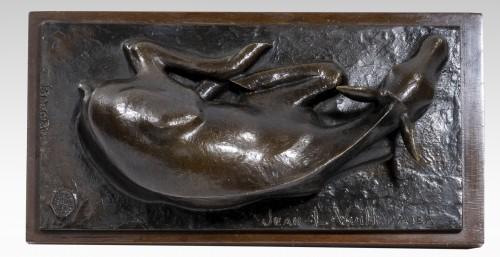Sculpture  - Vuilleumier Jean-Louis (1899-1981) - Lying doe