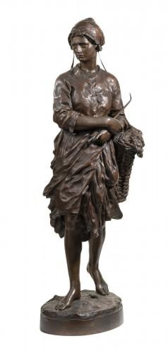 CARPEAUX Jean Baptiste (1827-1875) - Winkles' fisherwoman