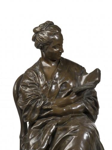 DALOU Jules (1838-1902) The reading lady (1877-1881)    -