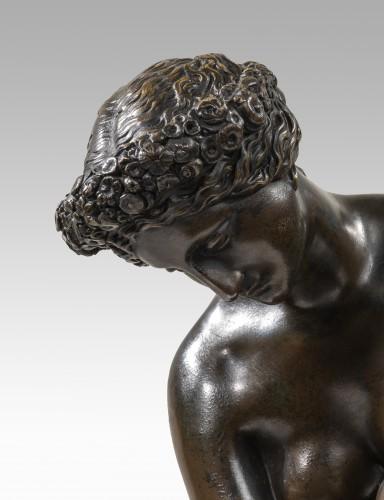 PRADIER James (1790-1852), Atalante's toilet     - Sculpture Style Louis-Philippe