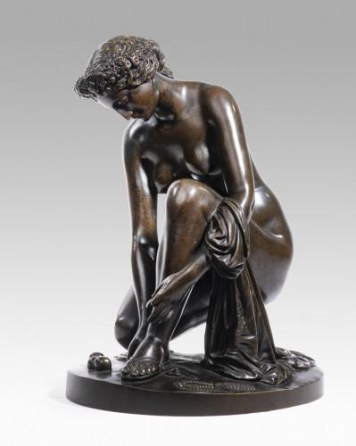 19th century - PRADIER James (1790-1852), Atalante's toilet