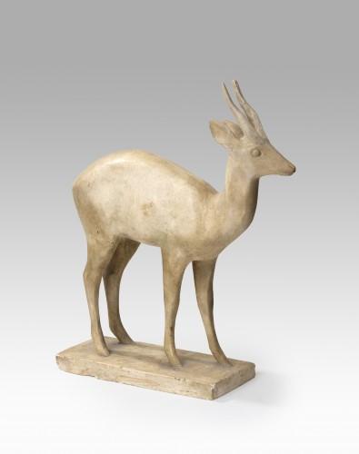 GRAVES Jean (1897 Français), Antelope - Sculpture Style Art Déco