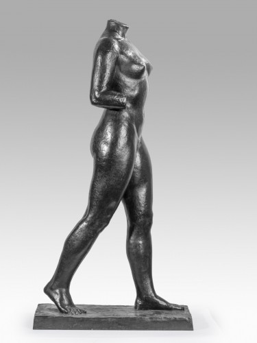 20th century - LAMOURDEDIEU Raoul (1877-1953) - Woman torso