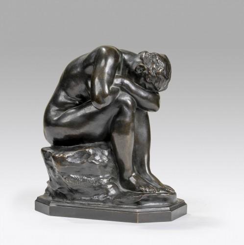 Antiquités - DALOU Aimé-Jules (1838-1902), The unknown truth or broken mirror