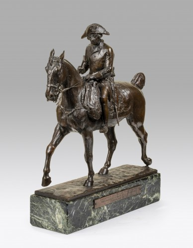 FRITSCH Willibald (1876-1948 ), Frederick the Great of Prussia  - Sculpture Style Art Déco