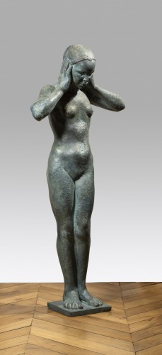 Sculpture  - De BLONAY Marguerite-Anne (1897-1966), Young Indochinese