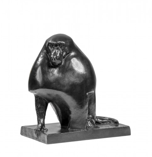 Georges-Lucien GUYOT (1885-1973) Baboon