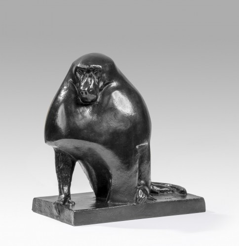 Georges-Lucien GUYOT (1885-1973) Baboon - Art Déco
