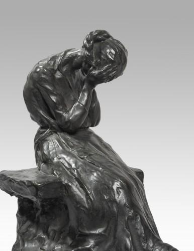 Sculpture  -   PINA Alfredo (1883-1966 Italian), The pain