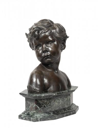 DALOU Aimé-Jules (1838-1902 French), Child bust