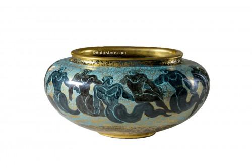 Jean Mayodon (1893-1967) -  Ovoid cup on heel