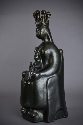 20th century - Georges Jouve (1910 - 1964) - Black virgin in majesty