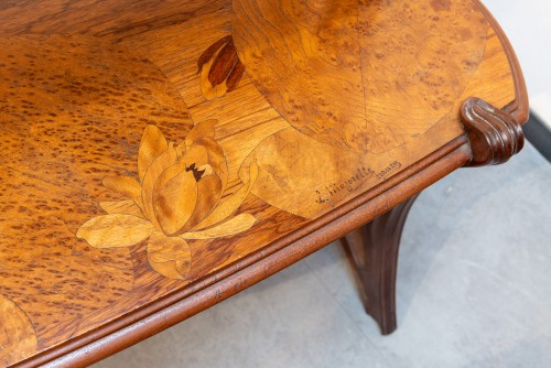 Louis Majorelle (1859-1926) - Mahogany tea table - Furniture Style Art nouveau
