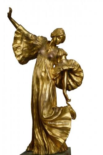Agathon Léonard (1841-1923) - Cothurnus dancer