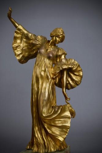 Sculpture  - Agathon Léonard (1841-1923) - Cothurnus dancer