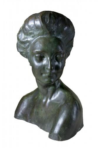 Rembrandt Bugatti (1884 -1916) - Portrait de Mme Denise Ferrero.
