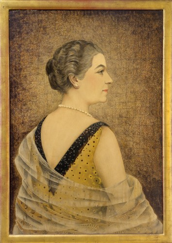 Jean Dunand (1877-1942) - Portrait of Mrs Henry Dutey