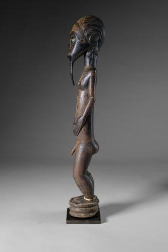 Tribal Art  - Male Baoulé Statue