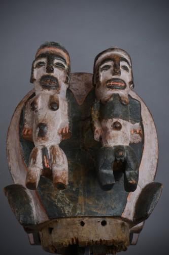 Tribal Art  - Elephant Mask - Igbo Art
