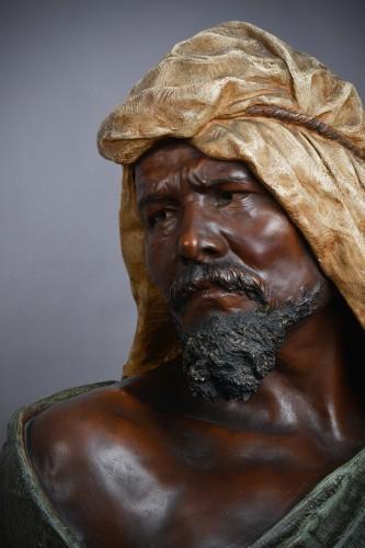 Goldscheider - Terracotta bust of berber man - Sculpture Style Art nouveau