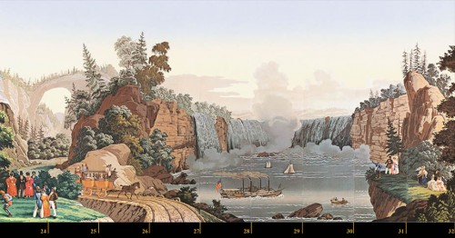 Zuber & Cie, wallpaper - View of North America -