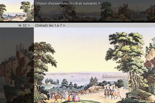 Zuber & Cie, wallpaper - View of North America - 50