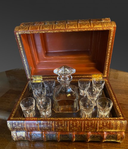 Glass & Crystal  - Baccarat - whiskey cabinet (crystal) Harcourt model