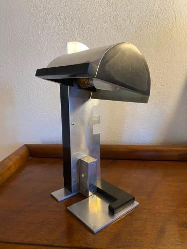 """Lighting  - Jacques Le Chevallier, Lampe de chevet dite """"à créneaux"""""""