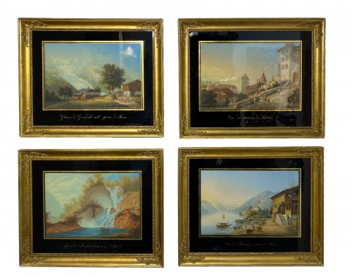 Johann-Ludwig Bleuler (1792 – 1850) - Views of Switzerland