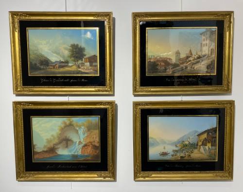 Johann-Ludwig Bleuler (1792 – 1850) - Views of Switzerland -