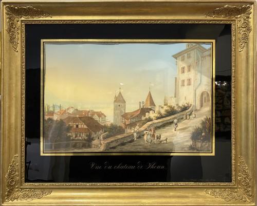 19th century - Johann-Ludwig Bleuler (1792 – 1850) - Views of Switzerland