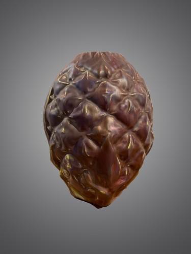 Ernest Bussières, Pineapple vase -